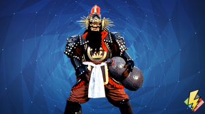 Samurai Fan Man