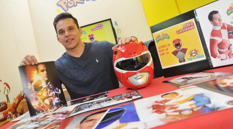 Go Go Power Rangers! Red Ranger meets fans at Palahniuks