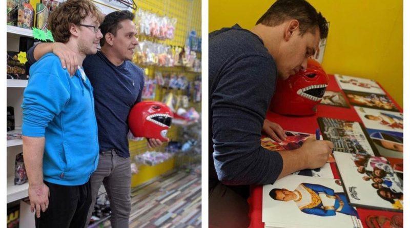 Go Go Power Rangers! Red Ranger meets fans at Palahniuks